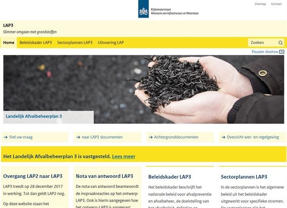 Het nieuwe Landelijk afvalbeheerplan (LAP3) vastgesteld Bodem+